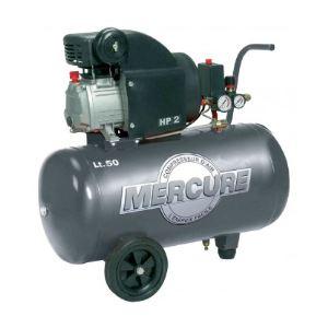 Mercure 223935 - Compresseur 50L 2HP avec tuyau et soufflette