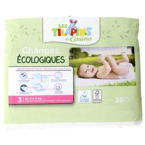 Image de Les Tilapins couc s écologiques T3x36 couc s