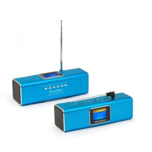 Technaxx MusicMan BTX-29 - Enceinte portable Bluetooth / DAB Stéréo