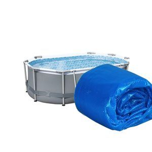 Bestway Bâche à bulles 4.66 x2.80m pour piscine 4.88x 3.05m