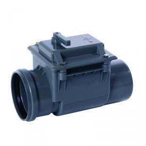 Nicoll CARZ - Clapet anti-retour à clapet et fermeture manuelle PVC diamètre 160