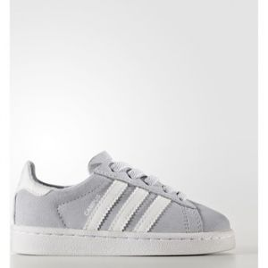 Adidas Campus El, Sneakers Basses Mixte Bébé, Gris (Grey One/Footwear White), 27 EU