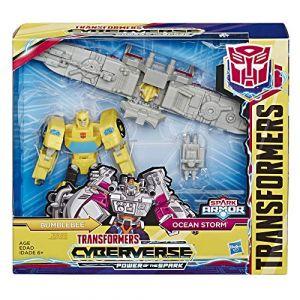 Hasbro Transformers Toys Cyberverse Spark Armor Bumblebee, Figurine
