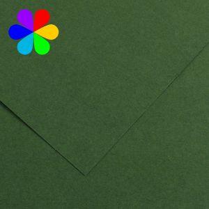 Canson 200040030 - Feuille Iris Vivaldi A4 120g/m², coloris vert sapin 31