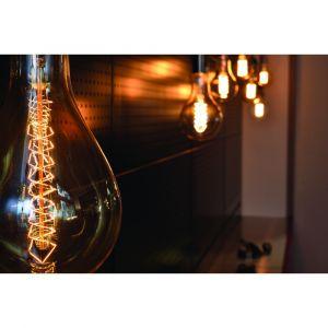 Girard sudron Ampoule géante ambre 40W E27 130 lumens Ø 162 mm