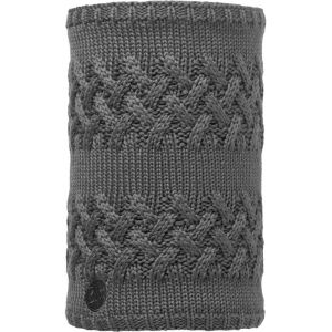 Buff Knitted & Polar Neckwarmer Savva grey castlerock
