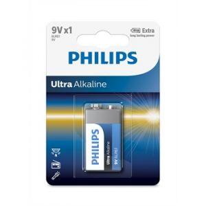 Philips 1 pile 6LR61 9V Ultra Alkaline