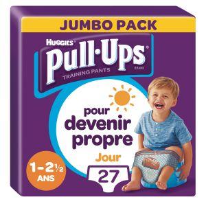 Huggies Couches Culottes Garçon, Taille M : 11-18 Kg Pull-ups - Le Paquet De 14