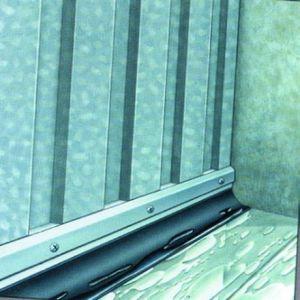 Ellen PROFILE ADS-GL BAVETTE PVC NOIR 2.5M - FRANCE CALFEUTRAGE SARL - GROUPE ELTON