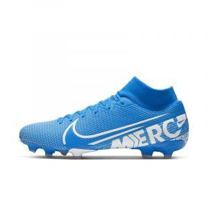 Nike Chaussure de football multi-surfacesà crampons Mercurial Superfly 7 Academy MG - Bleu - Taille 44.5 - Unisex