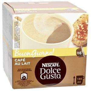 Nescafe 16 dosettes Dolce Gusto Café Au Lait