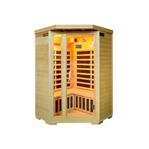 Arkiva II - Sauna Infrarouge 2/3 places d'angle Gamme prestige