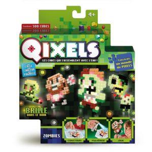 Kanaï Kids Mini Kit 4 créations Qixels Glow : Zombies