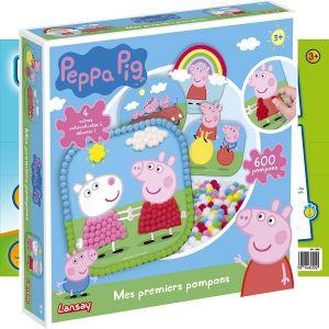 Lansay Mon set de pompons Peppa Pig
