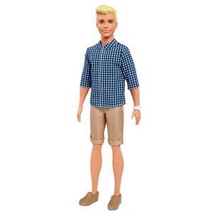 Mattel Ken Fashionistas classique à carreaux
