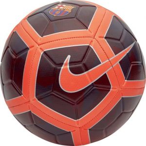 Nike FC Barcelone Ballon Strike - Bordeaux Foncé/Orange