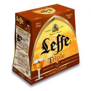 Leffe Bière triple belge, 8,5% vol. - Les 6 bouteilles de 25cl