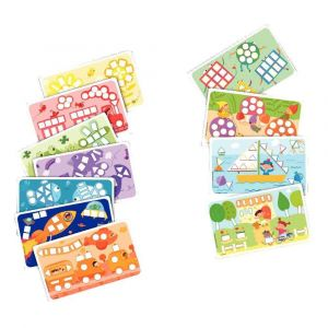 PlayMais 160086 - Set de 14 cartes PlayM Couleurs & Formes