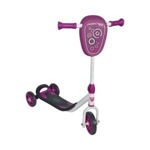 Moov'ngo Trottinette 3 roues violet