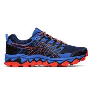 Asics Gel-Fujitrabuco 7, Chaussures de Running Homme, Bleu Expanse/Electric Blue 400, 44 EU