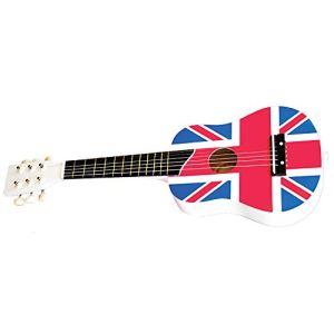 New Classic Toys 0309 - Guitare de luxe Drapeau Anglais Union Jack