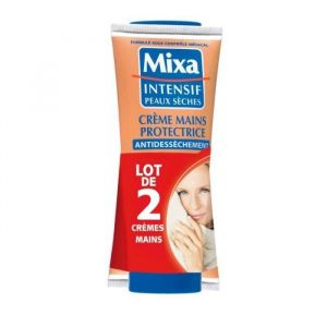 Mixa Cè}me mains protectrice - Le lot de 2 tubes de 100ml