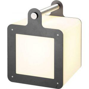 DM Lights SLV - Cube lumineux portable Omnicube IP54 H43 cm - Anthracite