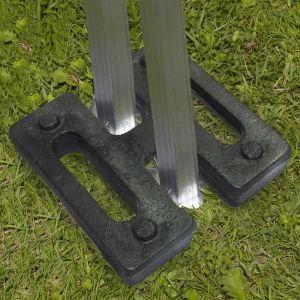 MobEventPro Double poids de lestage tente pliante 15kg