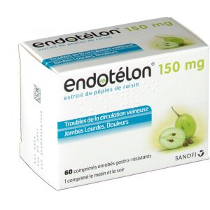 Serb Endotelon 150 mg - 60 Comprimés