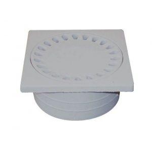 Regiplast SS100 Siphon de sol plateau 100 mm 40 x H 47 mm