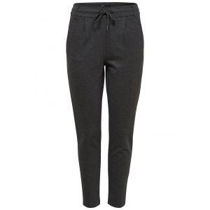 Only OnlPOPTRASH EASY COLOUR PANT PNT NOOS, Pantalon Femme, Gris (Dark Grey Melange), 34/L32 (Taille fabricant: X-Small)