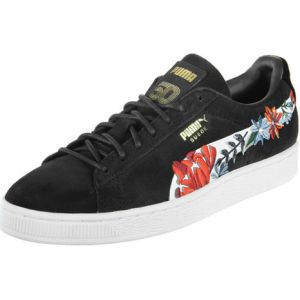 Puma Suede Hyper Embelished W chaussures, Noir/blanc, 38 EU (7.5 US / 5 UK)