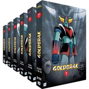 Goldorak - Intégrale (remasterisée) - 6 Coffrets (18 DVD)