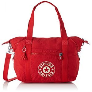 Kipling Art Nc, Cartables femme, Rouge (Lively Red), 20x44x27 cm (B x H T)