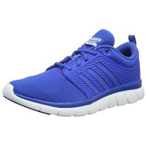 Adidas Cloudfoam Groove, Baskets Basses Homme, Bleu-Blau Blue/FTWR White, 41 1/3 EU