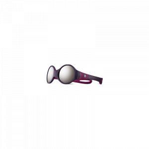 Julbo Loop M Spectron 4 Lunettes de soleil Enfant, aubergine/plume/grey flash silver Lunettes