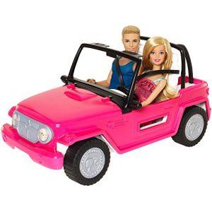 Mattel Barbie et Ken et leur 4X4 Beach Cruiser