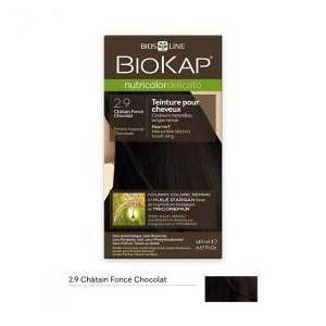 Biokap Coloration chatain foncé chocolat Delicato 140 ml