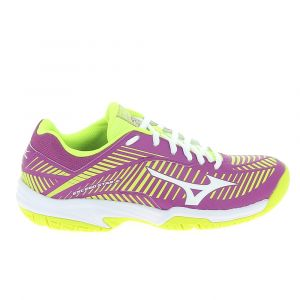 Mizuno Chaussure de sports co exceed star jr 2 ac violet jaune 38