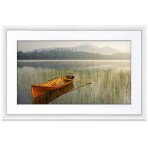 NetGear Meural Canvas 2 Blanc 16x24cm - Cadre photo connecté