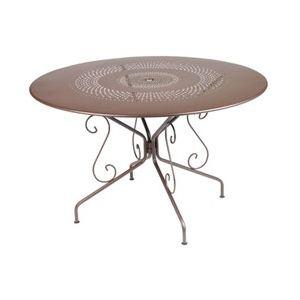 Fermob Montmartre - Table de jardin ronde en métal Ø 117 cm - Comparer avec  Touslesprix.com