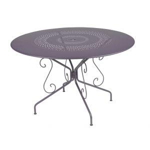 Fermob Montmartre - Table de jardin ronde en métal Ø 117 cm