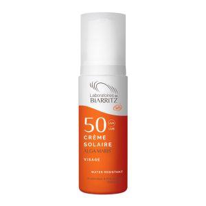 Laboratoires de Biarritz Alga Maris - Crème solaire visage certifiée bio SPF50