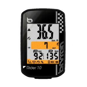 Bryton Rider 10 C - Compteur GPS avec capteur de cadence