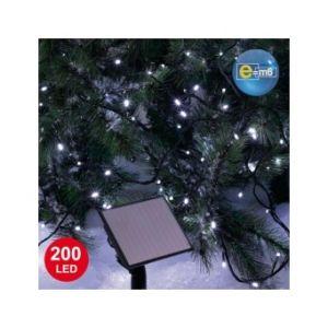 Guirlande lumineuse solaire 200 LED (20m)