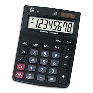 5 étoiles KC-DX120 - Calculatrice de bureau 8 chiffres