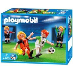 Playmobil 4703 - Football féminin (12 pièces)