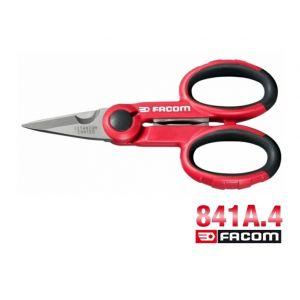 Facom 841A.4 - Ciseaux d'électriciens gainés