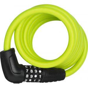 Abus Numero 5510 Combi - Antivol vélo - 180 cm SCMU vert/noir Câbles antivol