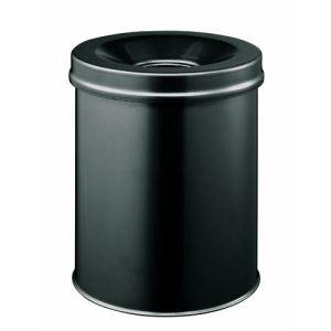 Durable 330501 - Corbeille à papier anti-éraflure en métal (15 L)